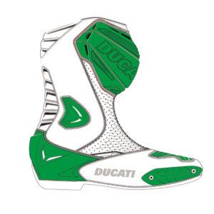9810387 Original Technical motorcycle boots Ducati Corse racing sport man woman unisex Ducati shop online store original apparel merchandise
