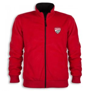987690242 Jacket Ducati Corse 2 Man bomber double face black red
