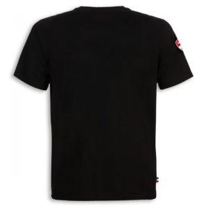 98769052 Official t shirt Ducati corse cotton Ducatiana black man Ducati shop online store original apparel merchandise