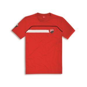 98769500 Official t shirt Ducati corse cotton Speed red man Ducati shop online store original apparel merchandise