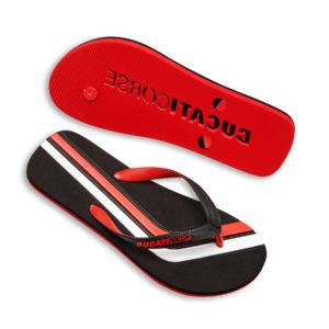 98769729 Flip FLops Ducati Corse Stripe slippers beach Ducati Shop online official store