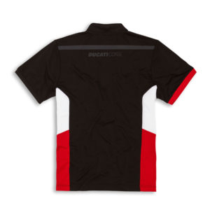 98769904 Polo Official Ducati Corse Power DC19 Black Man Ducati shop online store apparel original merchandise