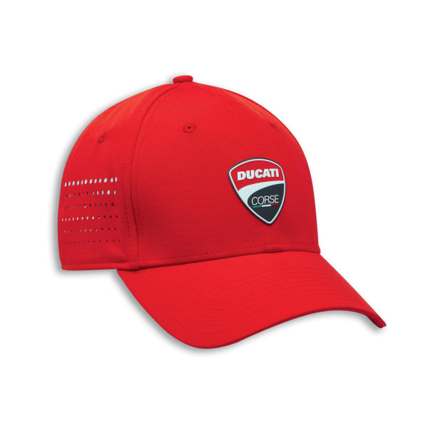 987700702 Cappellino Ducati Corse DC Stretch 20 rosso berretto baseball New Era cap hat cappello