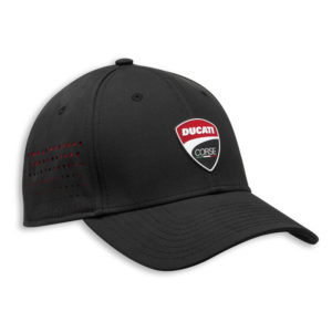 987700712 Cappellino Ducati Corse DC Stretch 20 nero berretto baseball New Era cap hat cappello