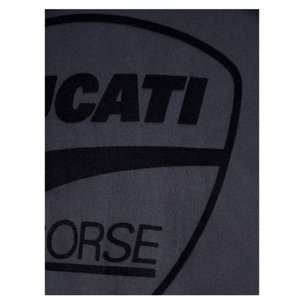 2036006 Tshirt Ducati Corse Tonal Logo Uomo Nera