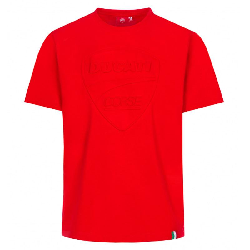 Ducati Corse Sketch T-Shirt Red Brand New Genuine