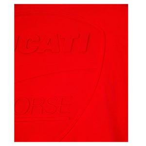 2036008 T-shirt Ducati Corse Tonal Logo Uomo Rossa