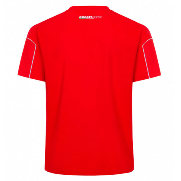 2036009 Tshirt Ducati Corse Piping and Mesh Rossa Uomo