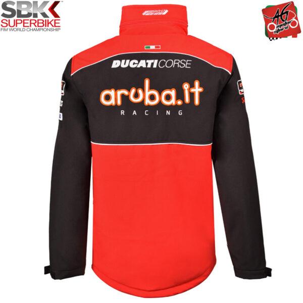 Giacca Softshell con cappuccio Ducati Aruba WSBK 2020 Official Superbike
