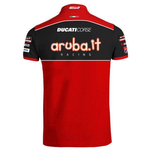 Polo Ducati Aruba WSBK man 2021 Official Superbike shop online store merchandise