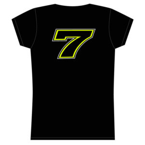 Tshirt Chaz Davies 7 black woman
