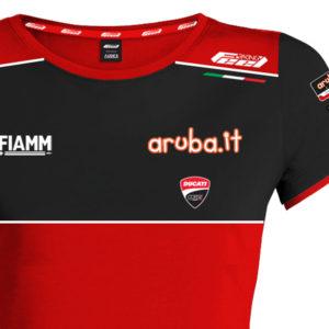 Tshirt Ducati Aruba WSBK Donna 2020 Official Superbike