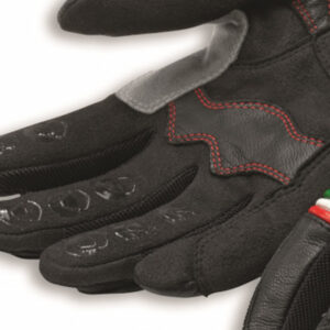 98102826 Guanti pelle-tessuto Ducati CityC2 Gloves Leather Spidi