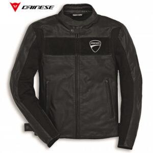 9810322 Giubbino Giacca Jacket pelle Company C2 Ducati Uomo Dainese