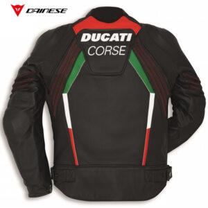 9810408 Giubbino Giacca pelle C3 Ducati Corse Dainese Leather Jacket