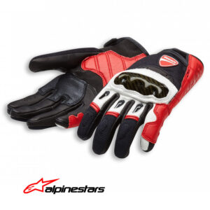 98104211 Guanti pelle-tessuto Ducati CompanyC1 gloves leather