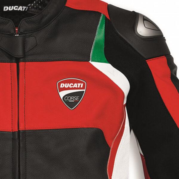 9810435 Giubbino Giacca pelle C3 Ducati Corse Dainese