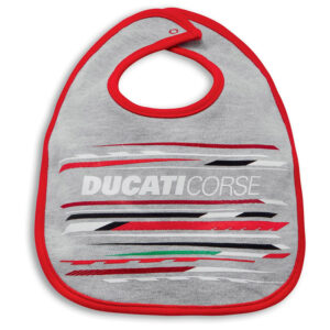 987700600 Bavaglino Bimbo Ducati Corse Sport20 grigio