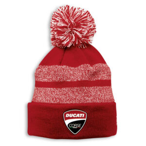 987700770 Cuffia Ducati Corse bobble hat beanie bonnets new era