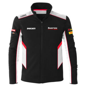 Felpa Sweatshirt fullzip Ducati Barni Racing Team Official Superbike