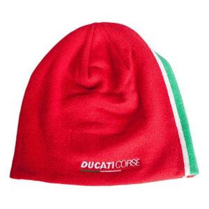 1846006 Cuffia Berretto Invernale Ducati Corse MotoGP 18 Rosso