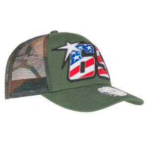 1944001 Cappellino Baseball Cap Hayden 69 Camouflage