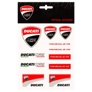 1956003 Set Adesivi Stickers Ducati Corse Panigale V4 Medium 19