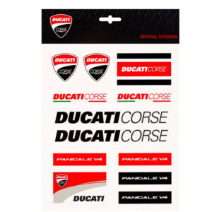 1956009 Set Adesivi Stickers Ducati Corse Panigale Big 19