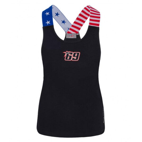 2034006 Tanktop Canotta Gym Fitness Hayden 69 Donna